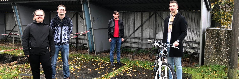 Wirtheimer Bahnhof für Fahrradfahrer fit machen
